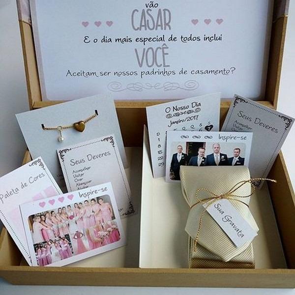 Ideias Para Convite De Padrinhos De Casamento