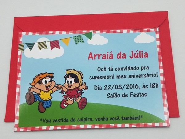 Convite Festa Caipira No Elo7