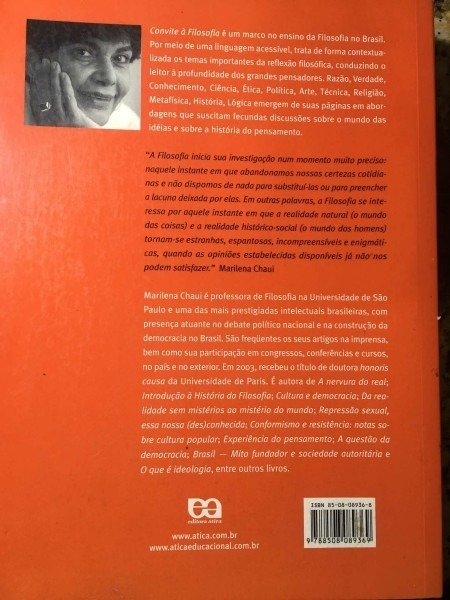 Convite A Filosofia 2003