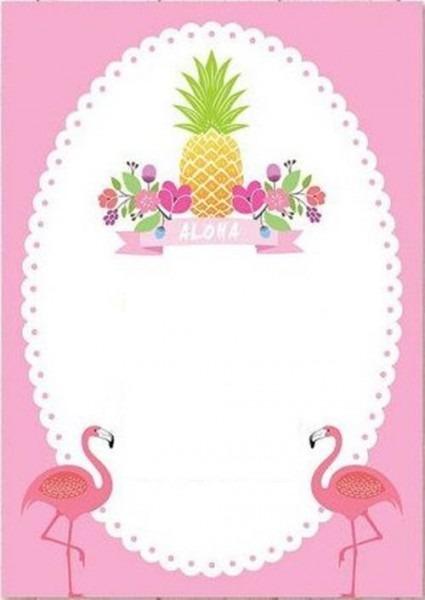 Convite Flamingo  80 Modelos Imperdíveis Para Se Inspirar!