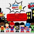 Herois Baby Convite