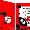 Modelo De Convite De Joaninha