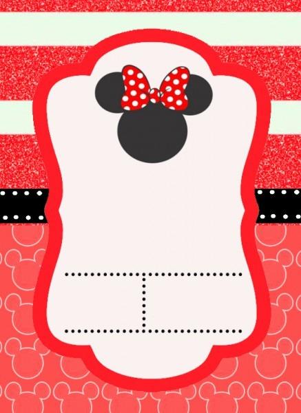 Convite Mickey E Minnie 329 Png Grátis Para Baixar Jpg,png