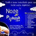 Convite Noite Do Pijama