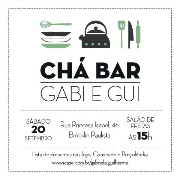 Chá Bar • Gabi & Gui – May Percebão