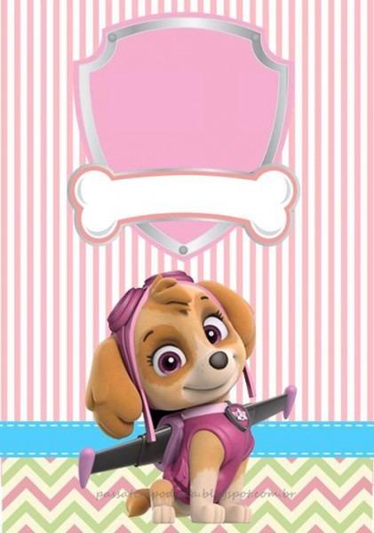Convite Patrulha Canina