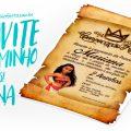 Convite Festa Moana