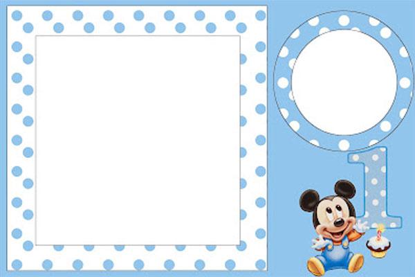 Convite Do Mickey Mouse  Modelos Para Imprimir E Editar, Como Fazer