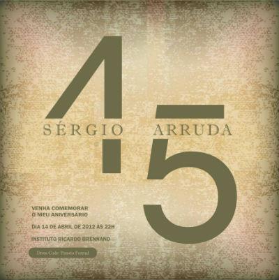 O Festão De Sérgio Arruda