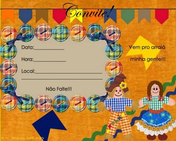 Festa Junina Convite