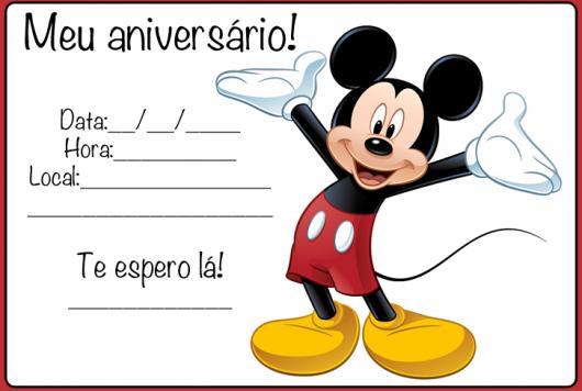 Convite Mickey E Minnie 331 Png Grátis Para Baixar Jpg,png