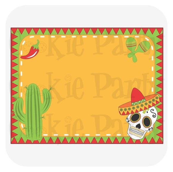 Convite Virtual Mexicano