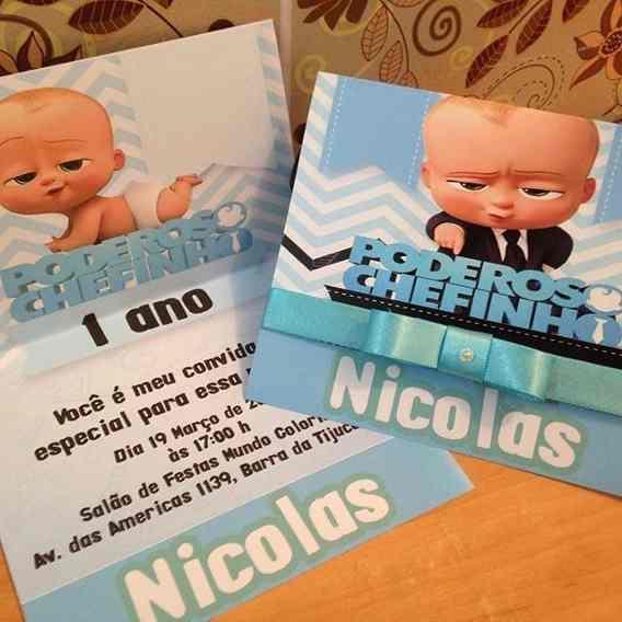Convite Aniversario Infantil Personalizado