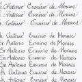 Letras Para Caligrafia De Convites