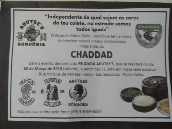 Blog Do Chaddad  Convite