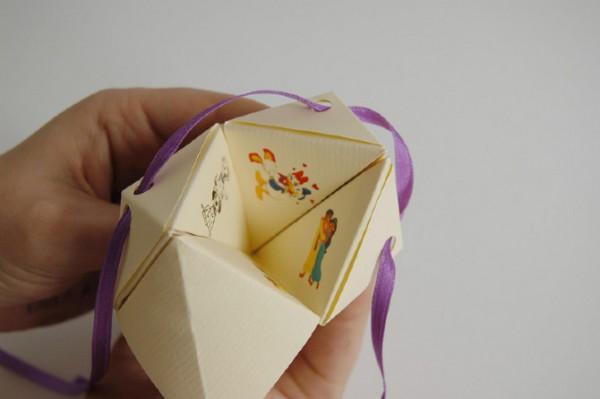 Convite De Casamento    Wedding Invitation Origami