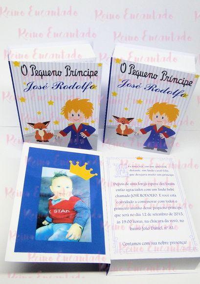 Compre Convite Livro Pequeno Principe No Elo7 Por R$ 4,50