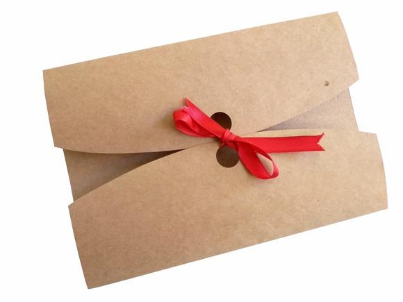 Envelope Para Convite De Casamento Kraft