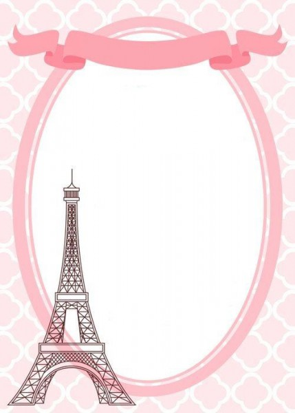 Festa Paris Infantil  54 Ideias Lindas!