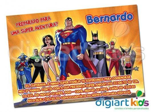 Festa Liga Da Justiça – Como Decorar Com 50 Ideias Super Iradas!