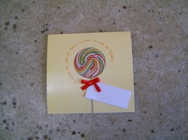 Convite Guloseimas – Isabela E Melissa