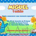 Convite De Festa Infantil Da Galinha Pintadinha
