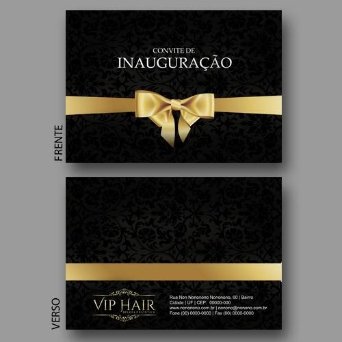 Convite Inauguraçao
