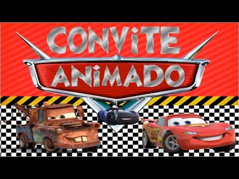 Convite Animado De Aniversário