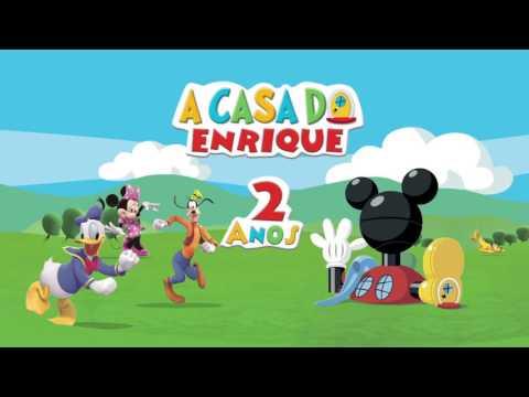 Video Convite Enrique 2 Anos, A Casa Do Mickey