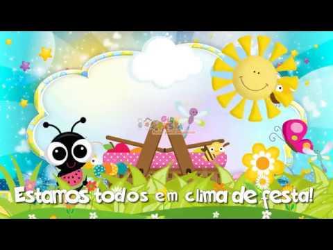 Convite Animado Picnic Formigas