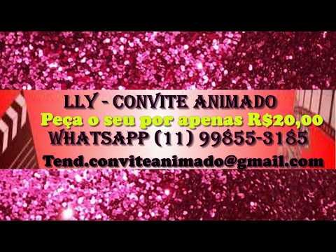 Lly Convite Animado