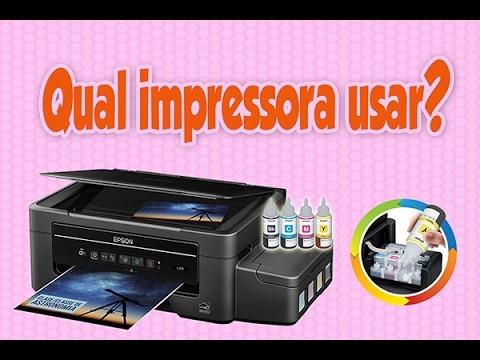 Qual Impressora Usar Para Imprimir Os Personalizados