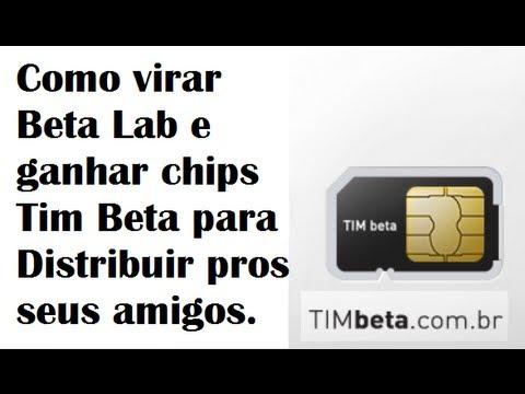 Como Virar Beta Lab E Ganhar Chips Tim Beta Para Distribuir Pros