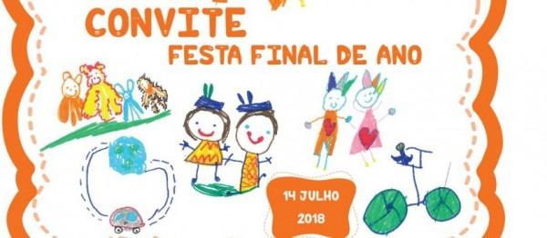 Convite Festa Final De Ano 2018