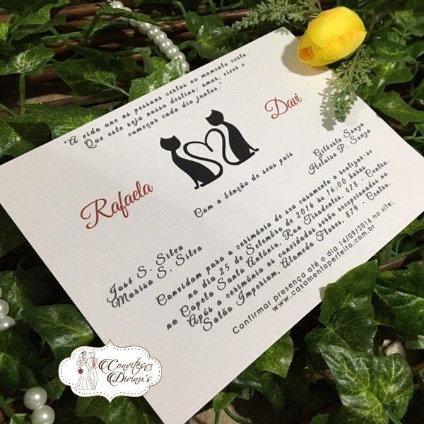 Convite Para Casamento, Bodas, Noivado