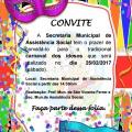 Convite Baile De Carnaval