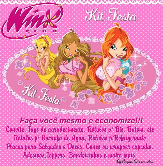 Kit Festa Clube Das Winx No Elo7