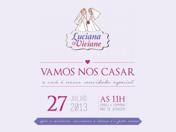 Website Para Casamento – Luciana E Viviane