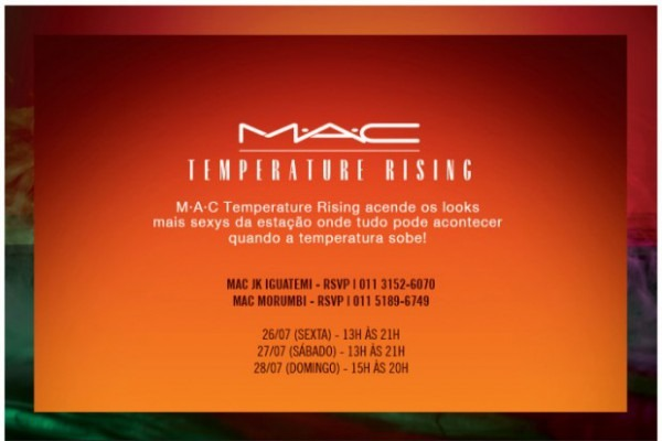 Lançamento Mac Temperature Rising
