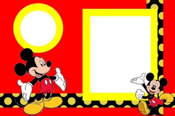 Convite Mickey E Minnie 343 Png Grátis Para Baixar Jpg,png