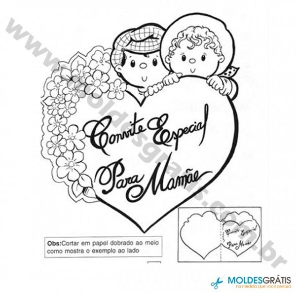 Moldes Para O Dia Das Mães