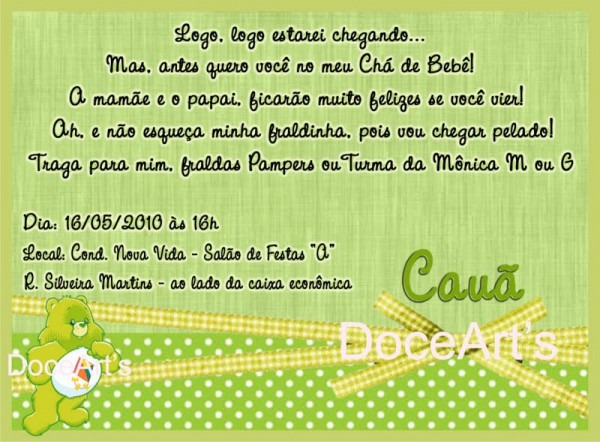 Doceart's Convites E Lembrancinhas