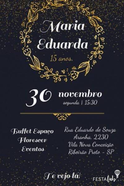 Convite 18 Anos
