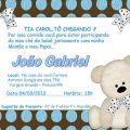 Convite Churras Baby