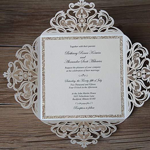 Texto De Convite De Casamento Convites De Casamento De Corte A