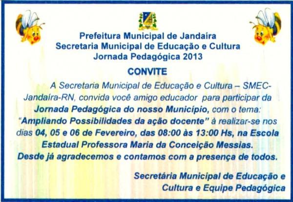Jandaíra News  Secretaria De Educação E Cultura De Jandaíra