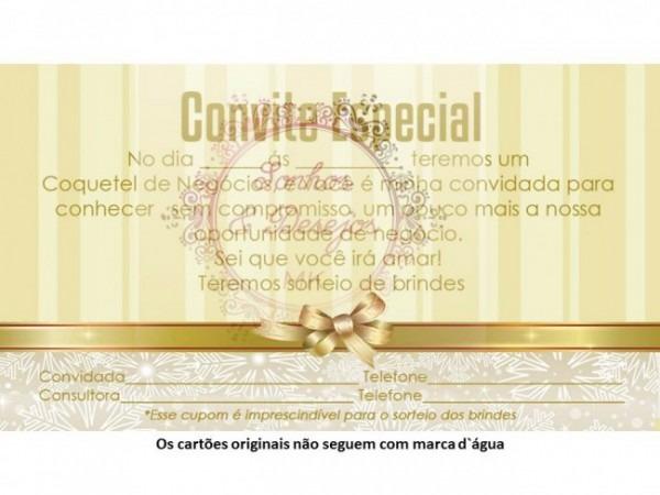 Convite Coquetel De Negócios