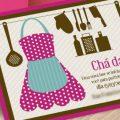Modelo De Convite Para Cha De Cozinha