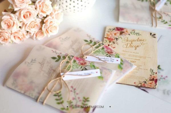 10 Ideias Para Os Convites Do Seu Casamento  Vai Ser Difícil