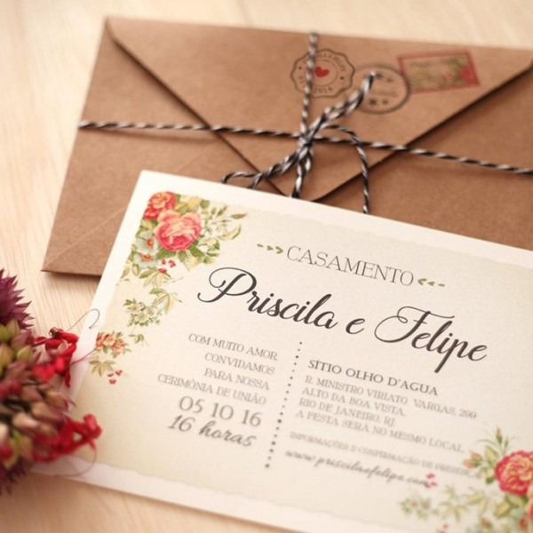 6 Dicas Para Te Ajudar A Escolher O Convite De Casamento!